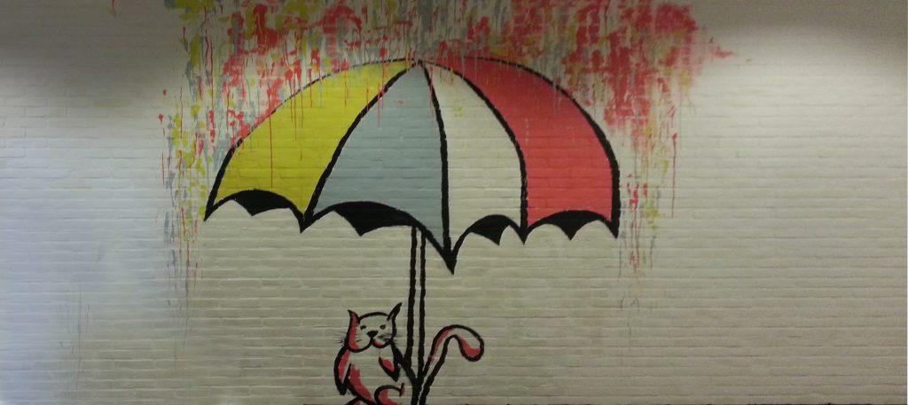 Muurschildering-AZC